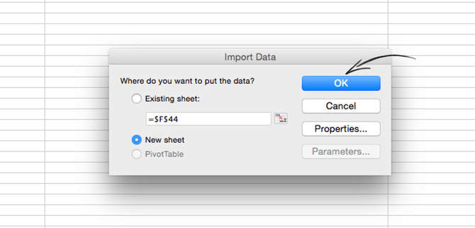 Importing the LiveChat report to a new sheet