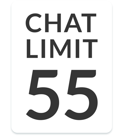 Feature list: Team management - Chat limit