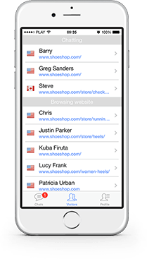 LiveChat for iPhone