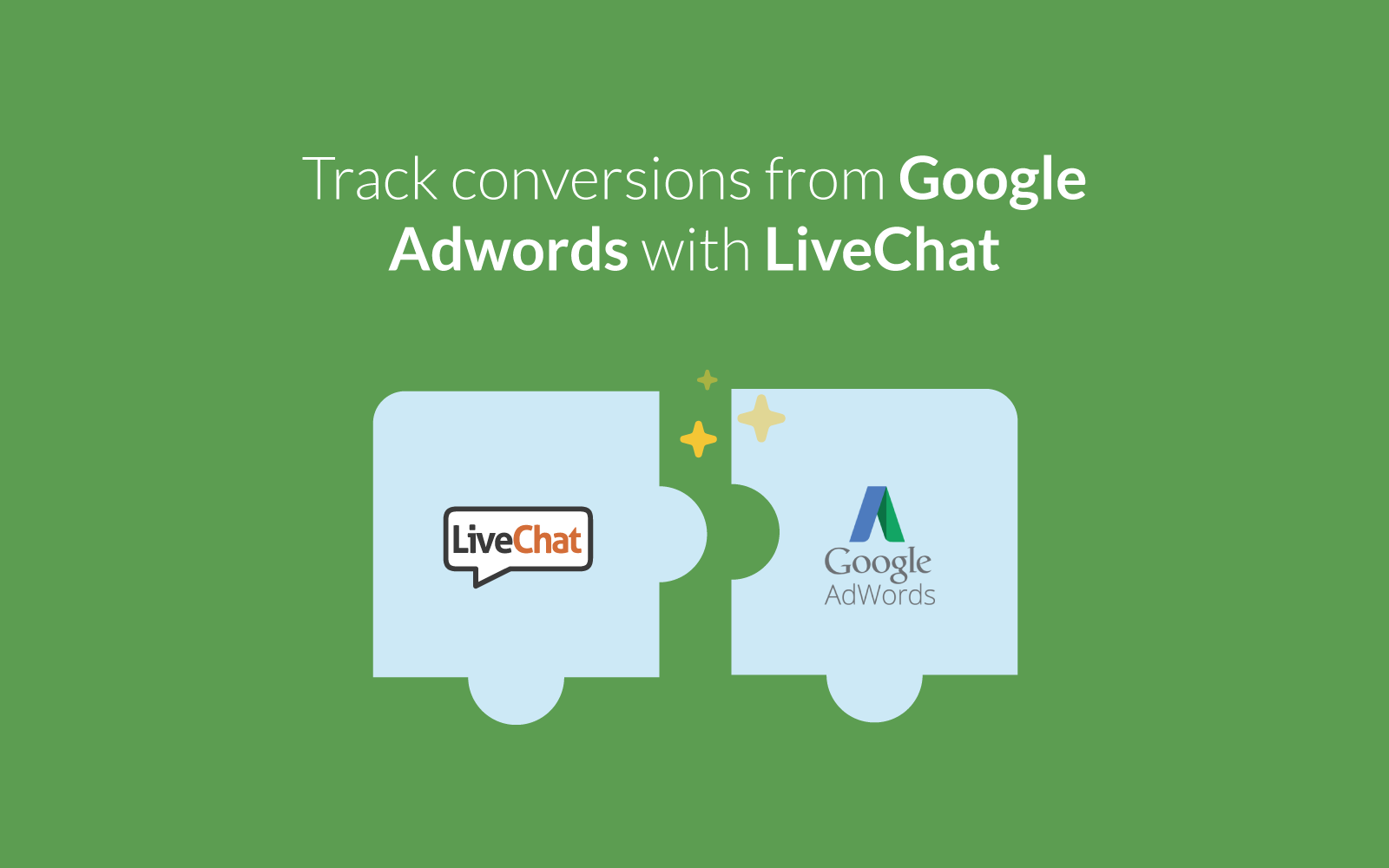 Google Adwords with LiveChat