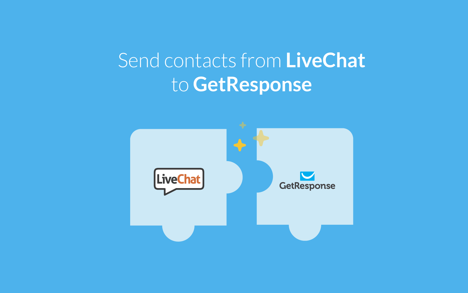live chat for getresponse livechat getresponse integration addGetresponse Integration #8