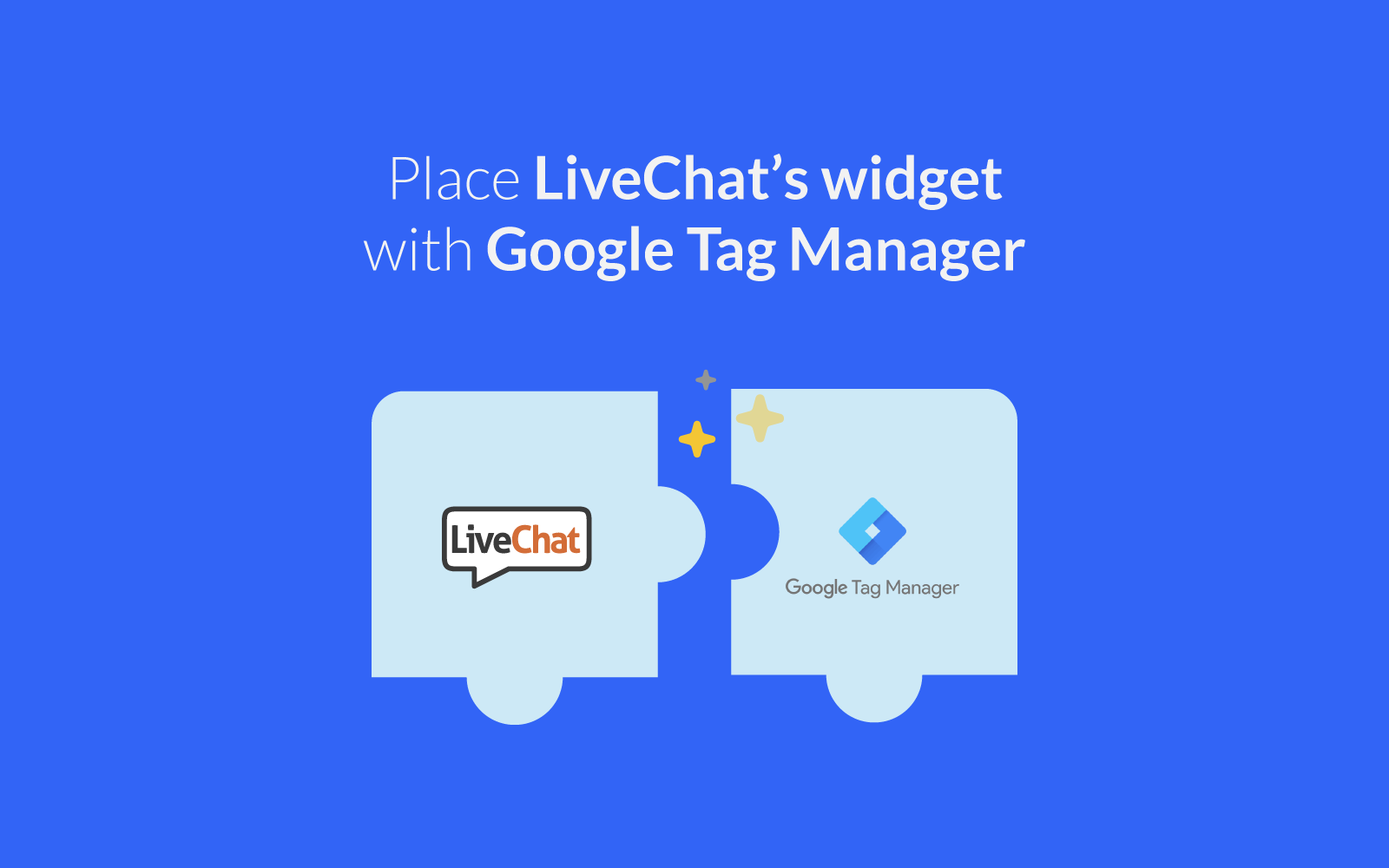 Livechat Marketplace Google Tag Manager