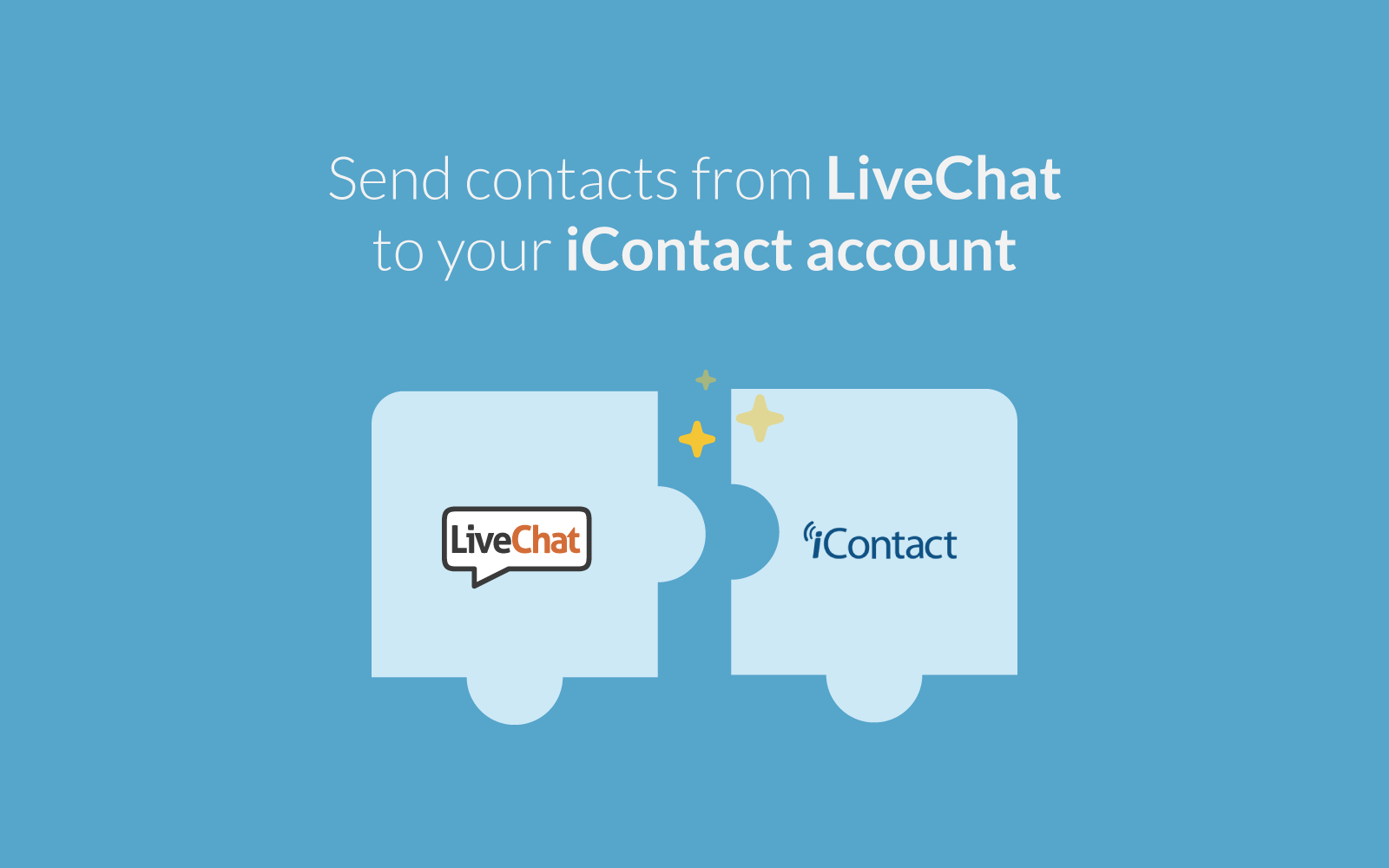 iContact integrates with LiveChat