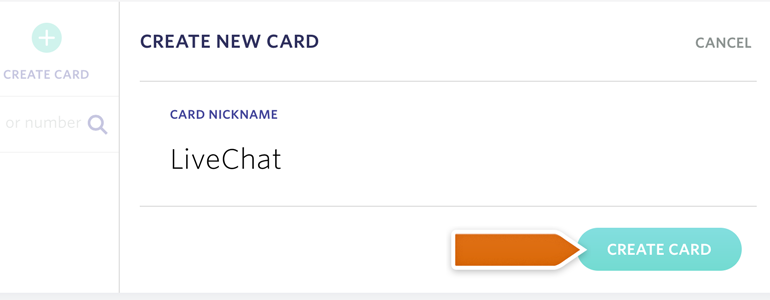 Name your Entropay card