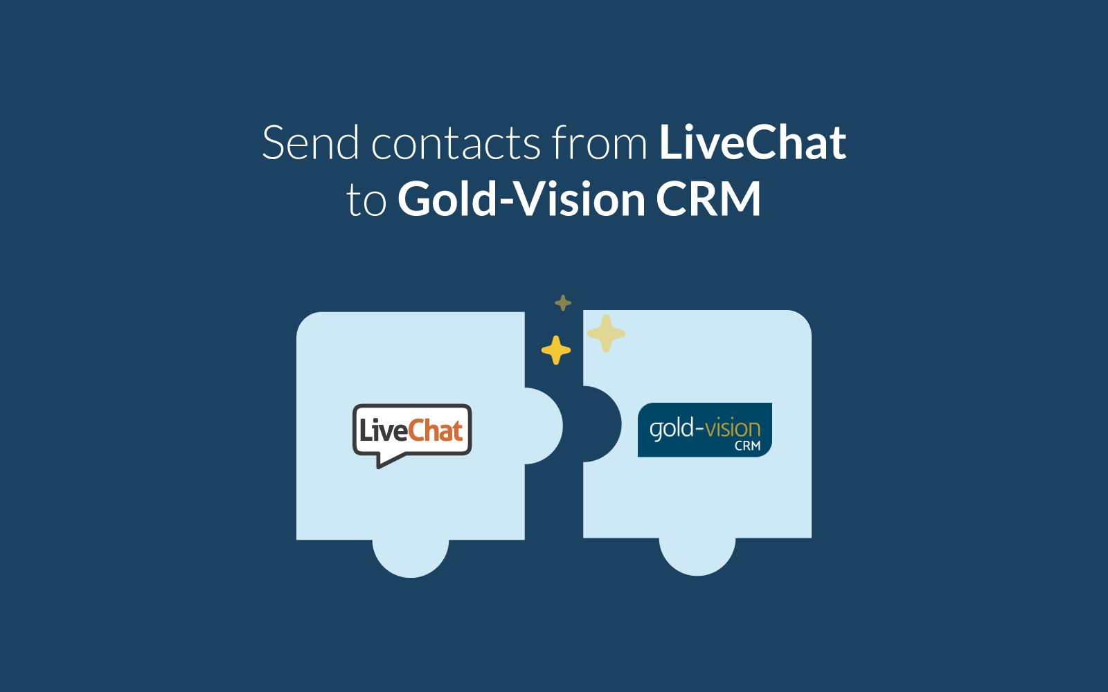 Gold-Vision CRM integration