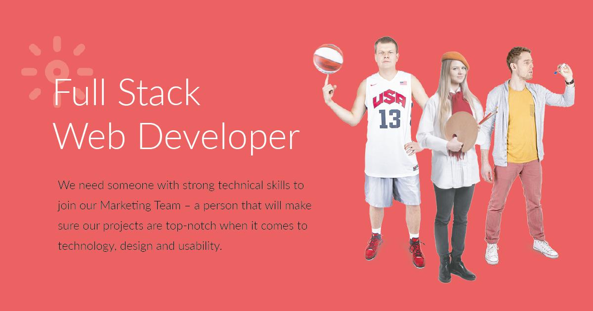 Full Stack Web Developer Livechat Jobs
