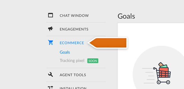 New Ecommerce section in LiveChat