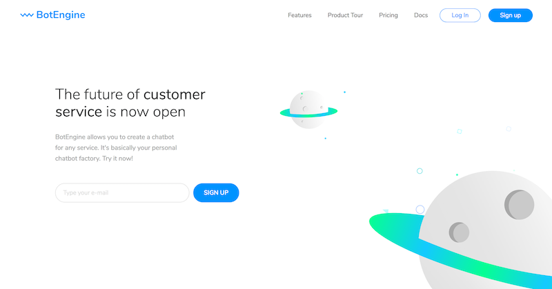 BotEngine is a chatbot platform for business